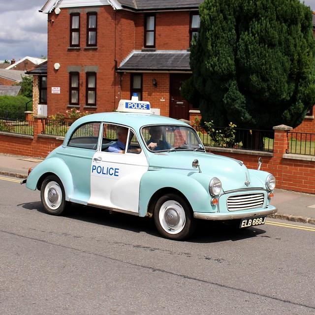 Morris Minor Police Panda Car