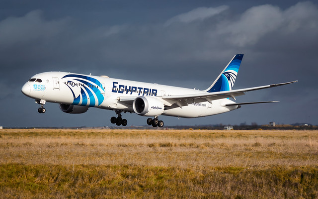 CDG B787-9 SU-GET Egyptair