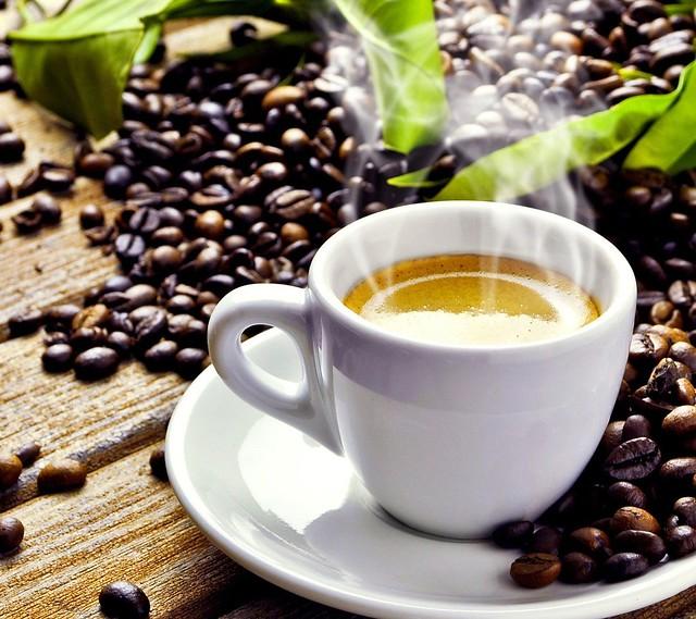 Cafeína en el café sólo