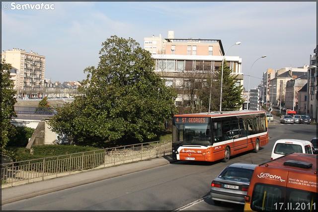 Irisbus Citélis 12 – Setram (Société d'Économie Mixte des TRansports en commun de l'Agglomération Mancelle) n°125