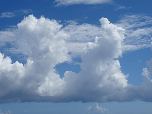 Nuage en relief ou relief de nuage
