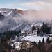 Snowy mountain Semmering