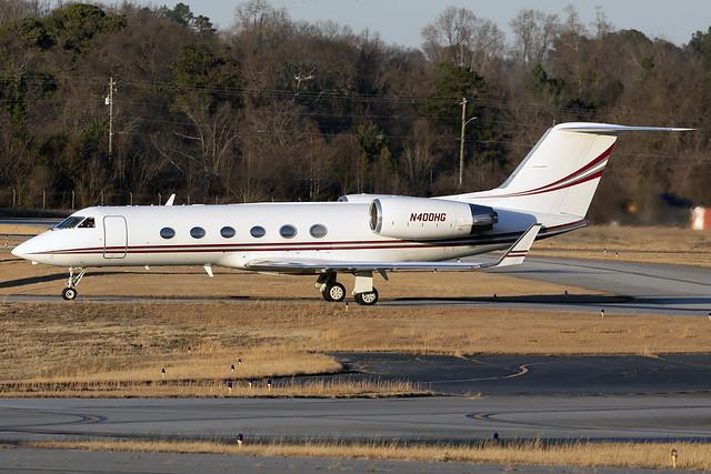 N400HG - Gulfstream G-IV - KPDK - 23 Jan 2021