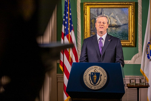 Governor Baker delivers virtual State of the Commonwealth address | by Office of Governor Baker