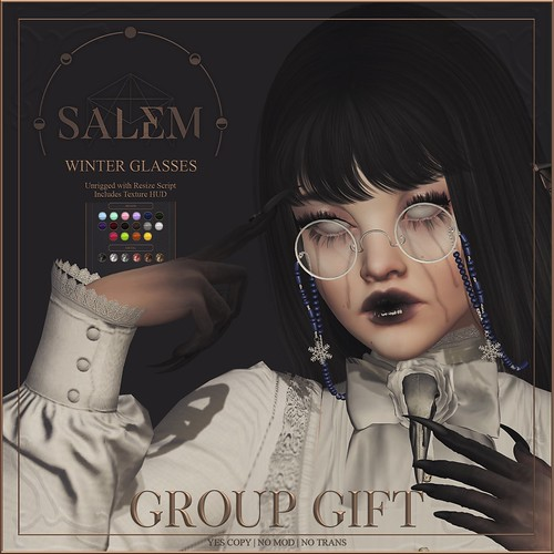 [Salem] Winter Glasses - Group Gift @ Mainstore