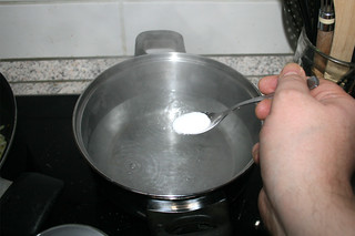 36 - Salt water / Wasser salzen