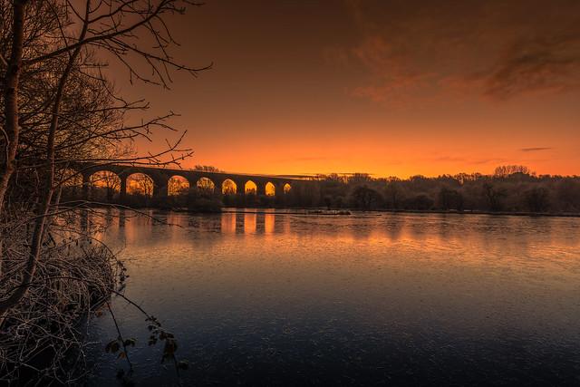 Reddish Vale Sunrise
