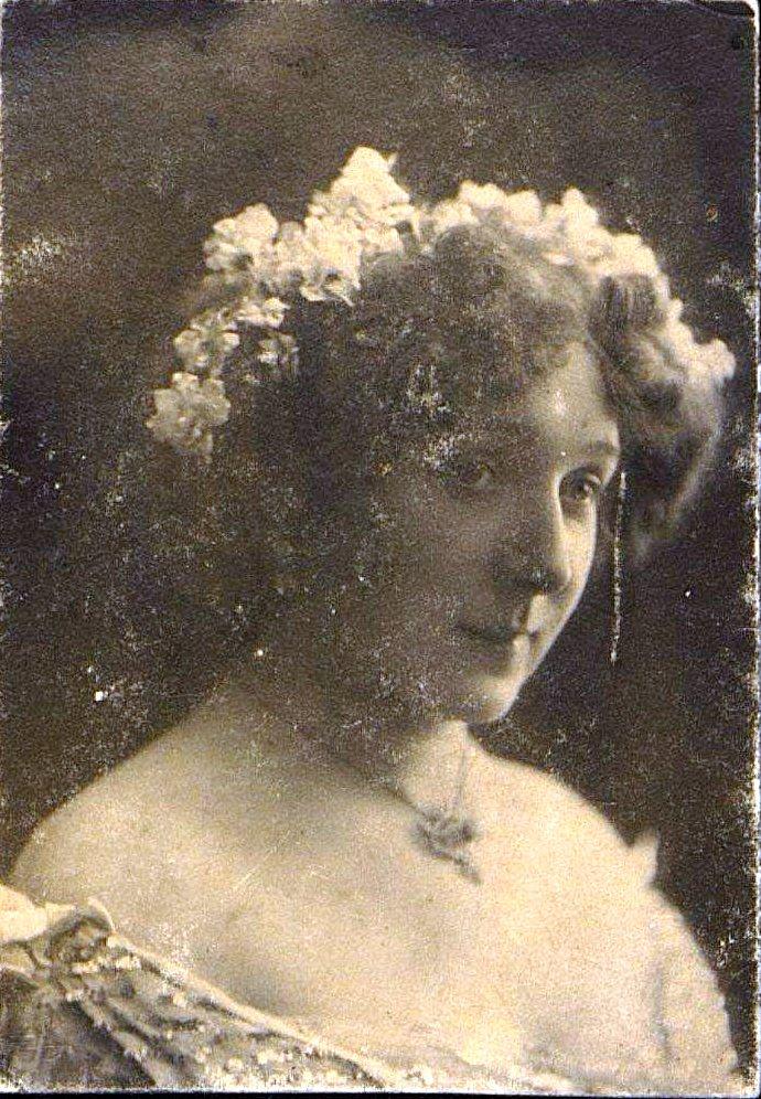 Чалеева-Бельская Елизавета Ивановна, актриса.  1907-1909 гг.