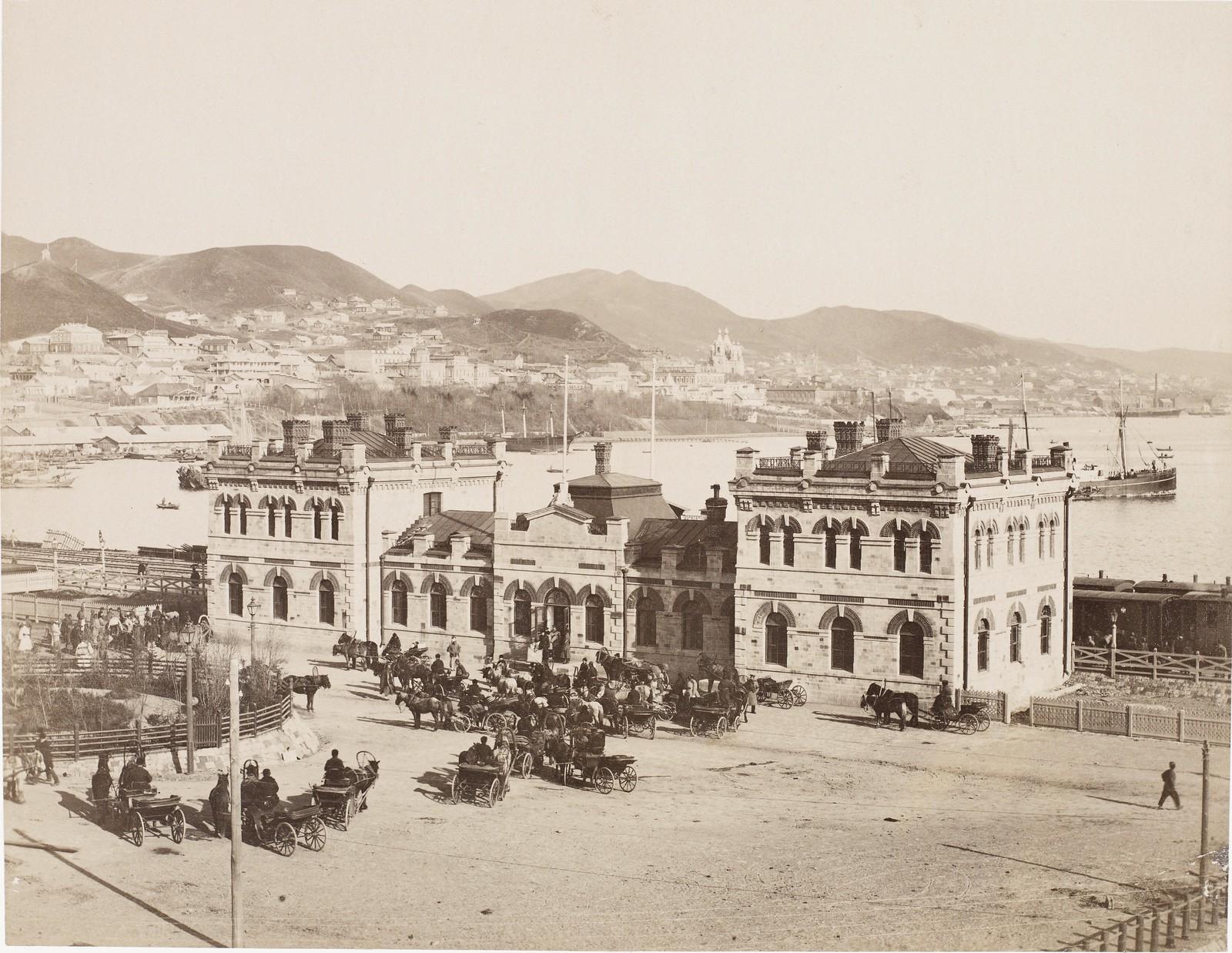 Городской вокзал. 1894