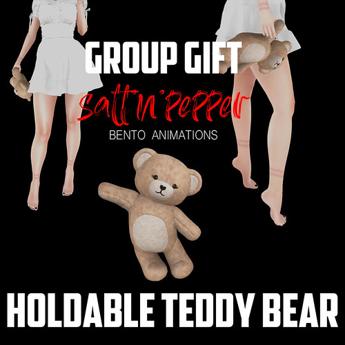 Group gift - holdable teddy