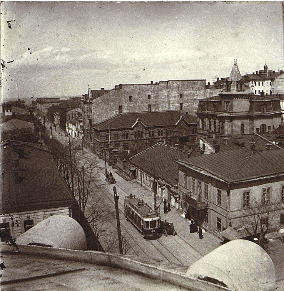 7. Вид с крыши Одесской чаеразвесочной фабрики В. Высоцкого и Ко.