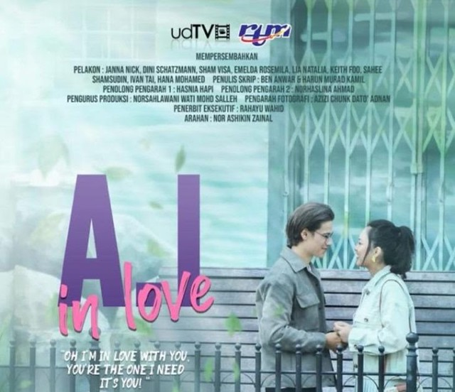 POSTER A.I IN LOVE