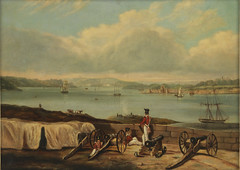 Port Jackson from Dawes Point, ca. 1842, attributed to John Skinner Prout