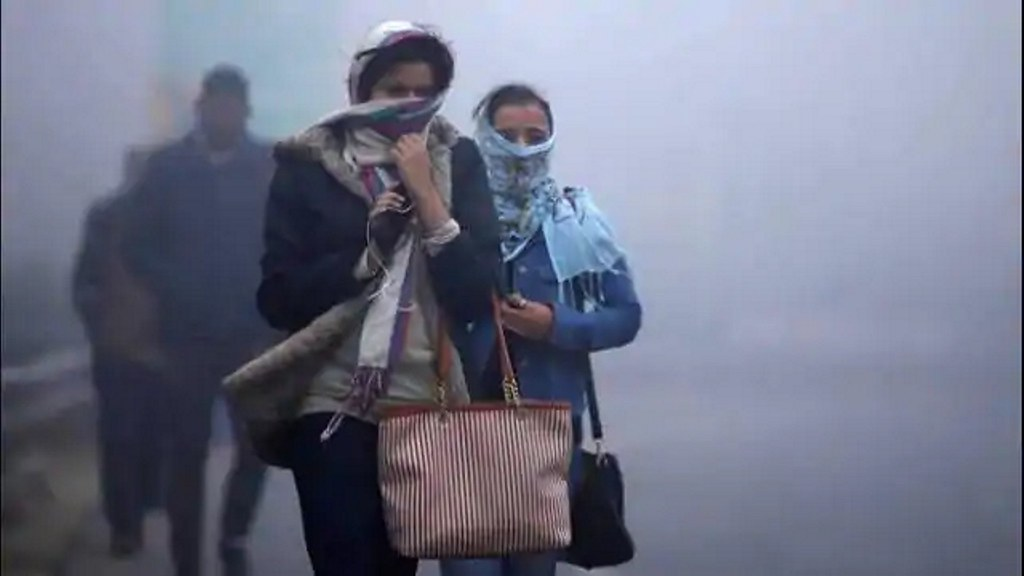 अगले तीन दिनों तक शीतलहर की चपेट में रहेगी दिल्ली
