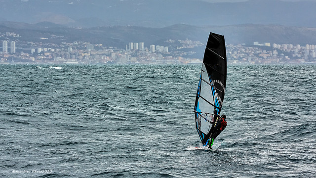 Lovran - windsurfing za iskusne morske vukove po jakom jugu (2)