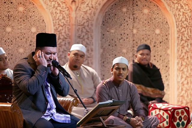 Kemeriahan tadarrus Al-Quran
