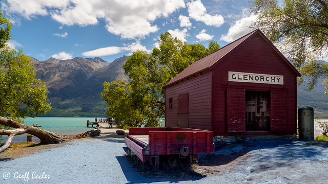 Boat Shed of Glenorchy (Explored)