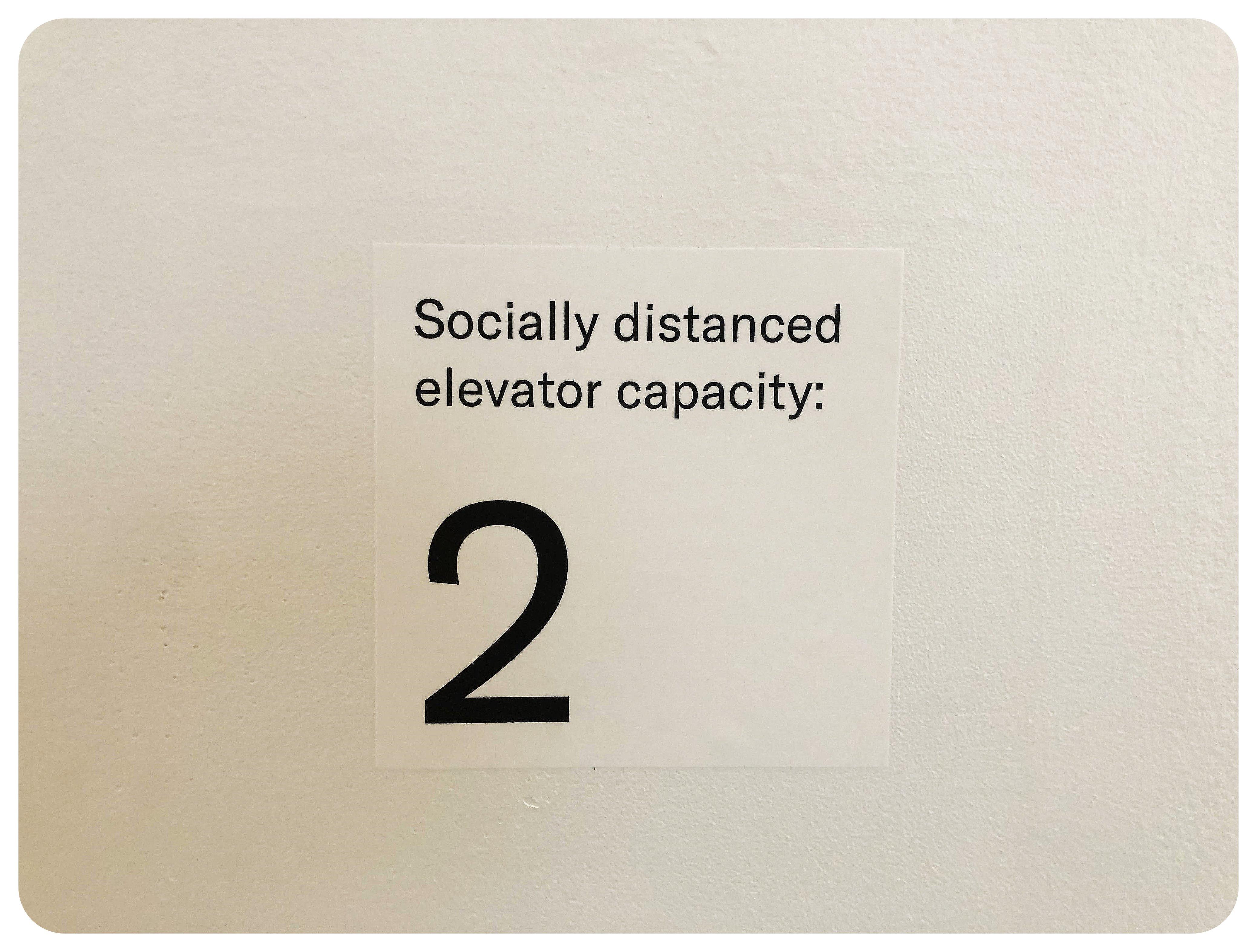 Social distancing NYC
