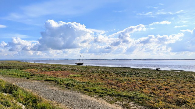 Seaside scene at Lytham, Lancashire