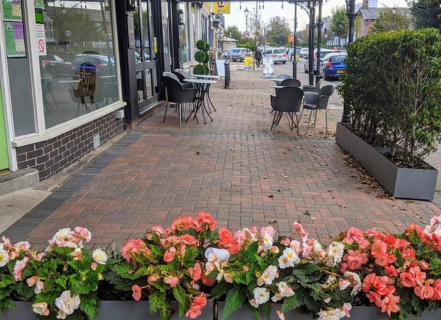 Street scene at Lytham, Lancashire