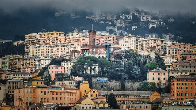 Blick auf Genua