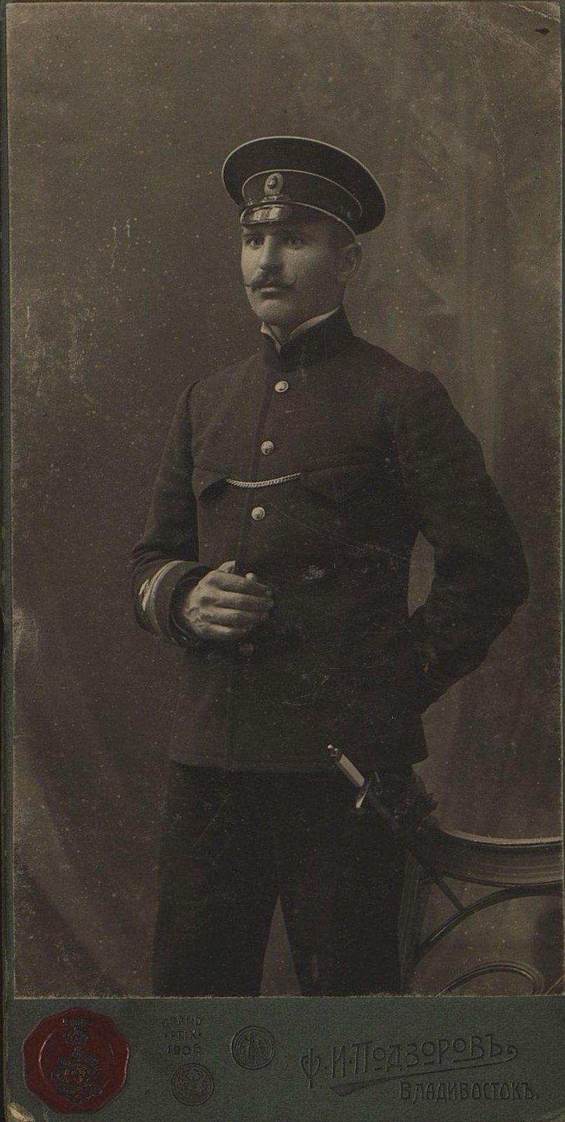Сироткин Василий Степанович, помощник начальника Гидрографической экспедиции Восточного океана. 1912