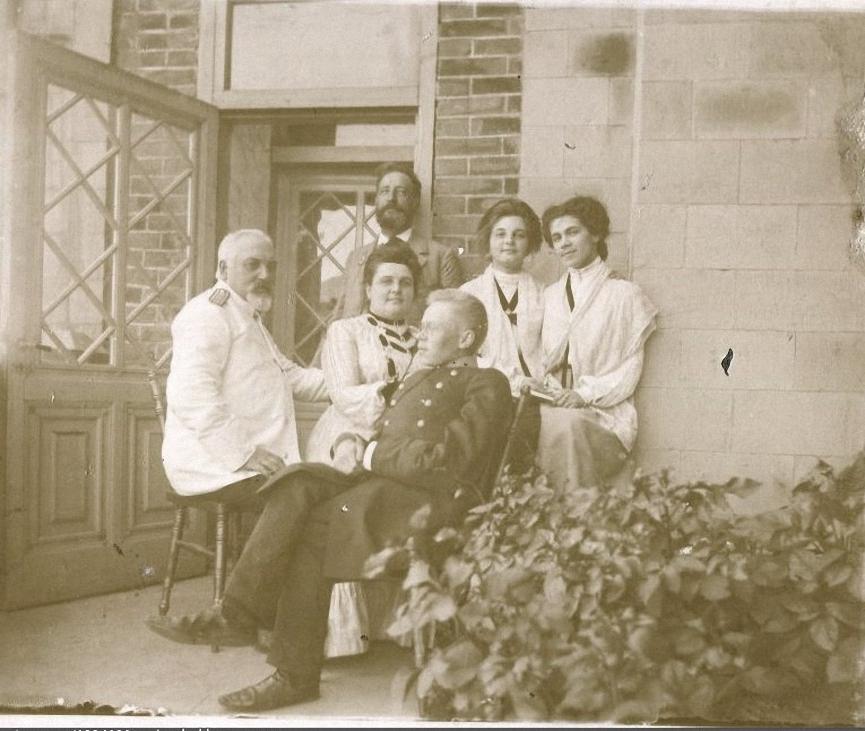 На балконе. 1902