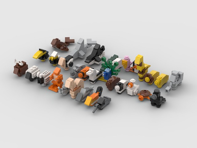 Lego Mini Animals