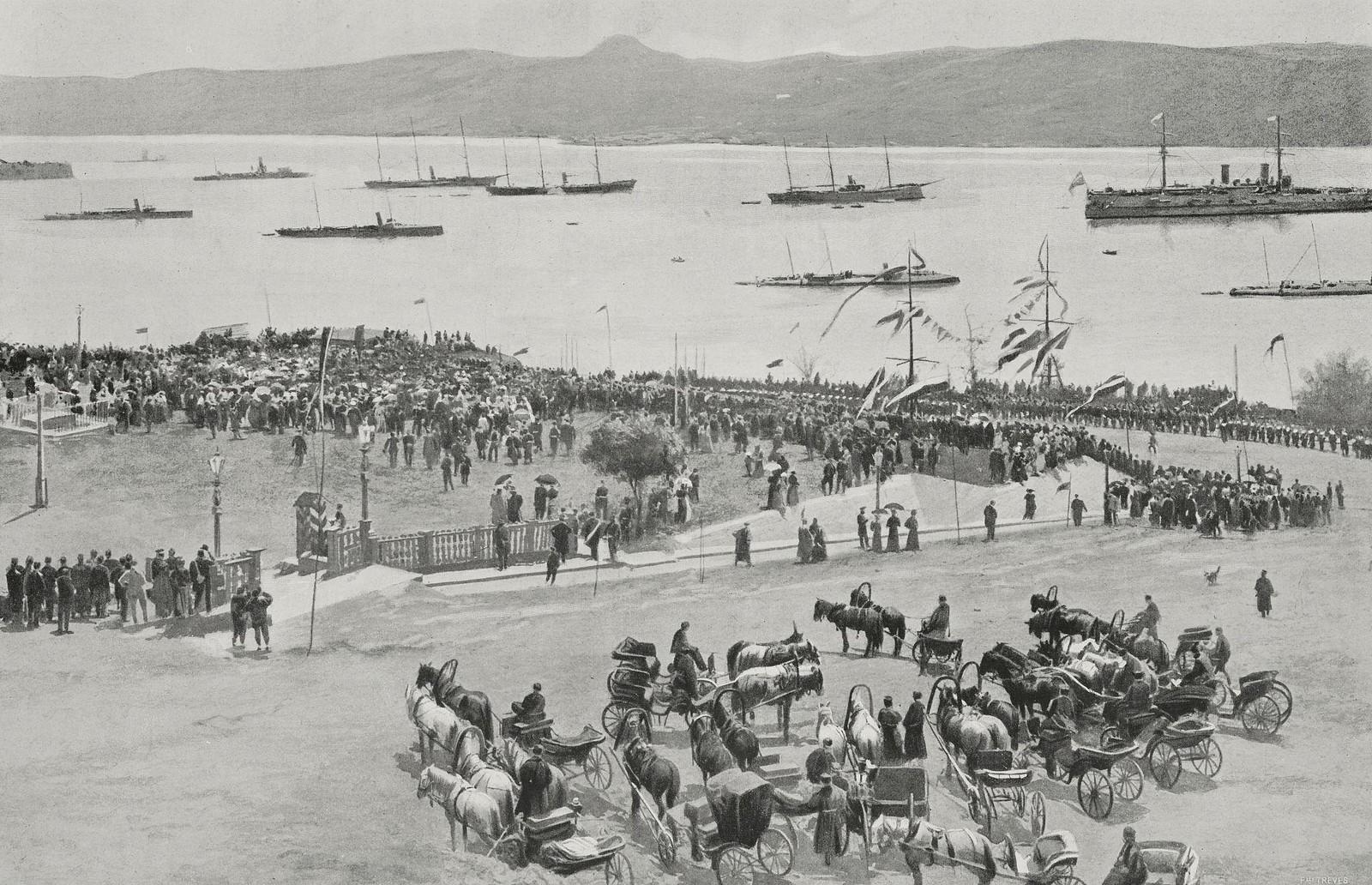 Неустановленное мероприятие во время русско-японской войны. 1905