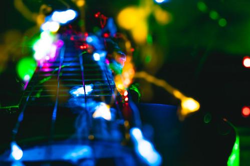 Abstract ukulele
