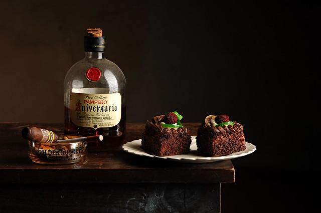 Rum and Chocolate Cake