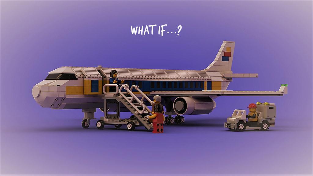 Alternate Universe Airplane 1990