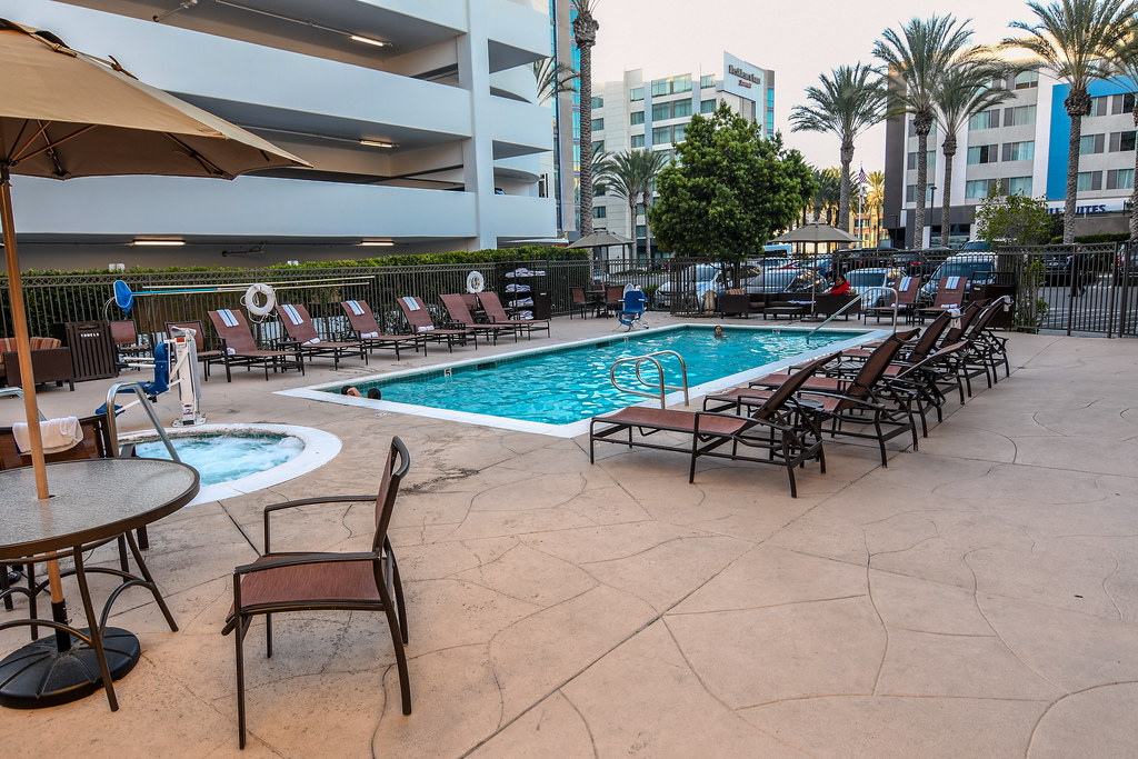 Portofino Anaheim pool
