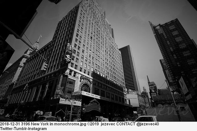 2018-12-31 3196 New York in monochrome