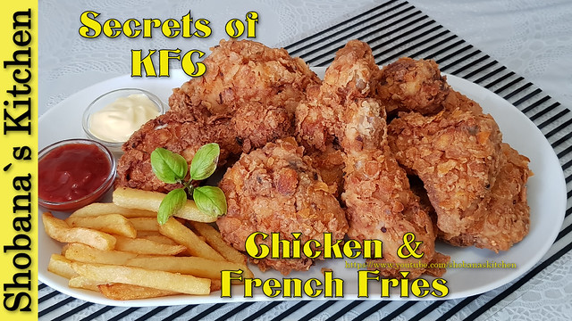 Watch This❗Forget KFC in your life ‼ Incredible Fried Chicken & French Fries