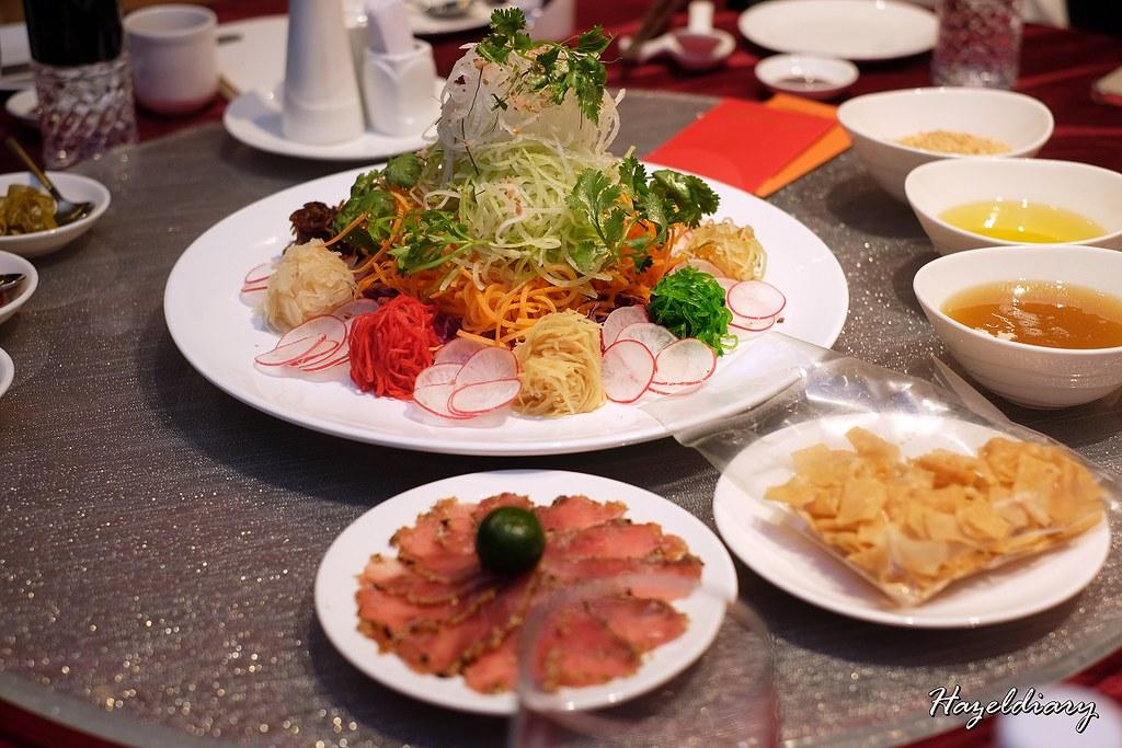 Hotel Park Royal Clark Quay-Prosperity Tuna Yu Sheng Platter