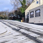 Icy Preston street