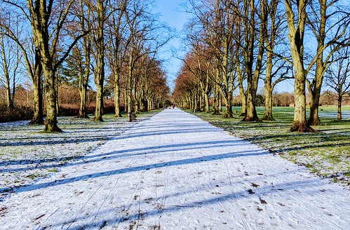 Chilly scene at Haslam park, Preston | by Tony Worrall