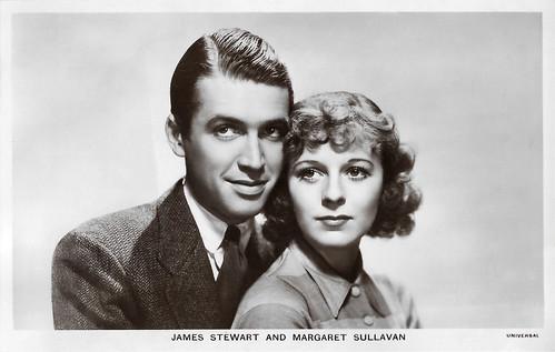 James Stewart and Margaret Sullavan in Next Time We Love (1936)