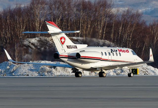 N864AM  Air Med Raytheon Hawker 800XP