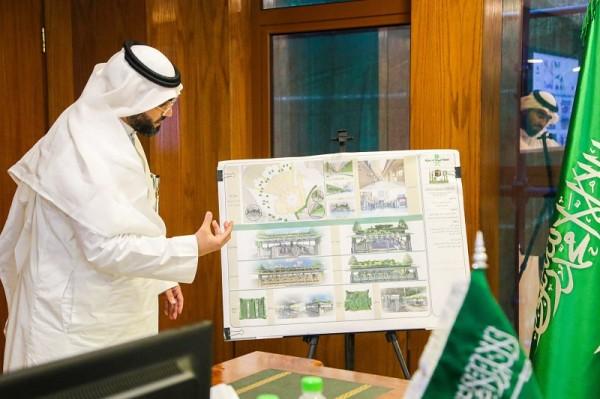 5902 Imam Sudais proposes to plant trees in Masjid al Haram 02