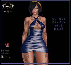 uni-qu3 Daniela blue dress