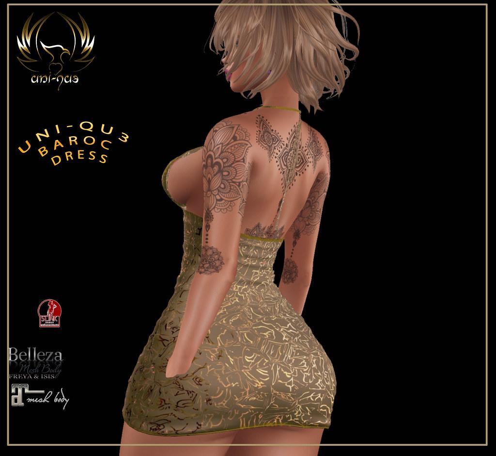 Uni-qu3  baroc  dress