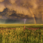 25. Juuni 2019 - 18:52 - Double rainbow with a lightning bolt at sunset, just south of the town of Superior, Nebraska, but taken over the state line in Kansas.   Wall Art..   ………………………………………………………………   All images are copyright © John Finney Photography. Don't use without permission.  Please contact me here  before using any of my images for any reason. Thank you.   Website  Workshops & Tours: We are now taking bookings for our new 2021 Isle of Harris Tour!  Instagram  Facebook  Twitter   Kase Filters UK.  Shop