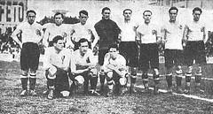Temporada 1927/28: equipo del Racing de Santander