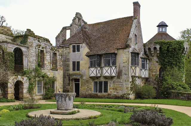 Ruined Elizabethan Wing at Scotney Castle *