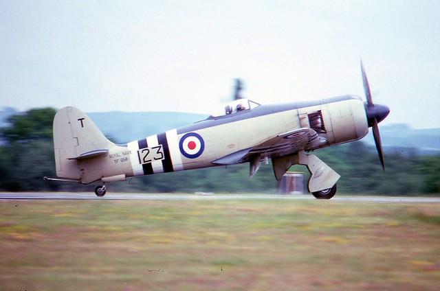 TF956 1947 Hawker Sea Fury FB11 RNHF IAT 06.80