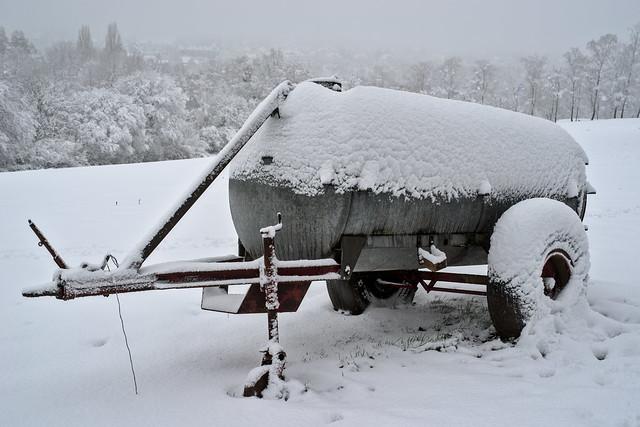 Snow tank / Schneetank