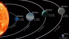 Acqua in un mondo incandescente? Un inatteso sistema planetario scoperto a Padova