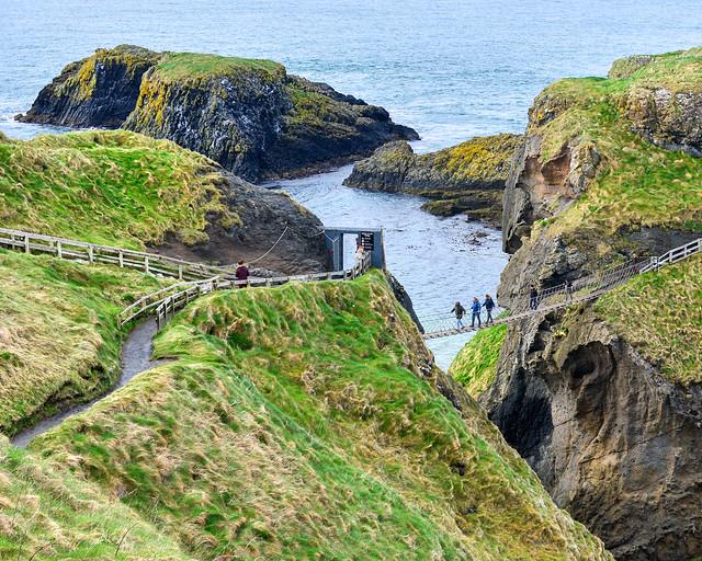 Carrick-a-Rede en Irlanda del Norte